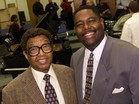 Dr. Billy Taylor and Carroll V. Dashiell, Jr., Founder and Artistic Director of the Billy Taylor Jazz Festival